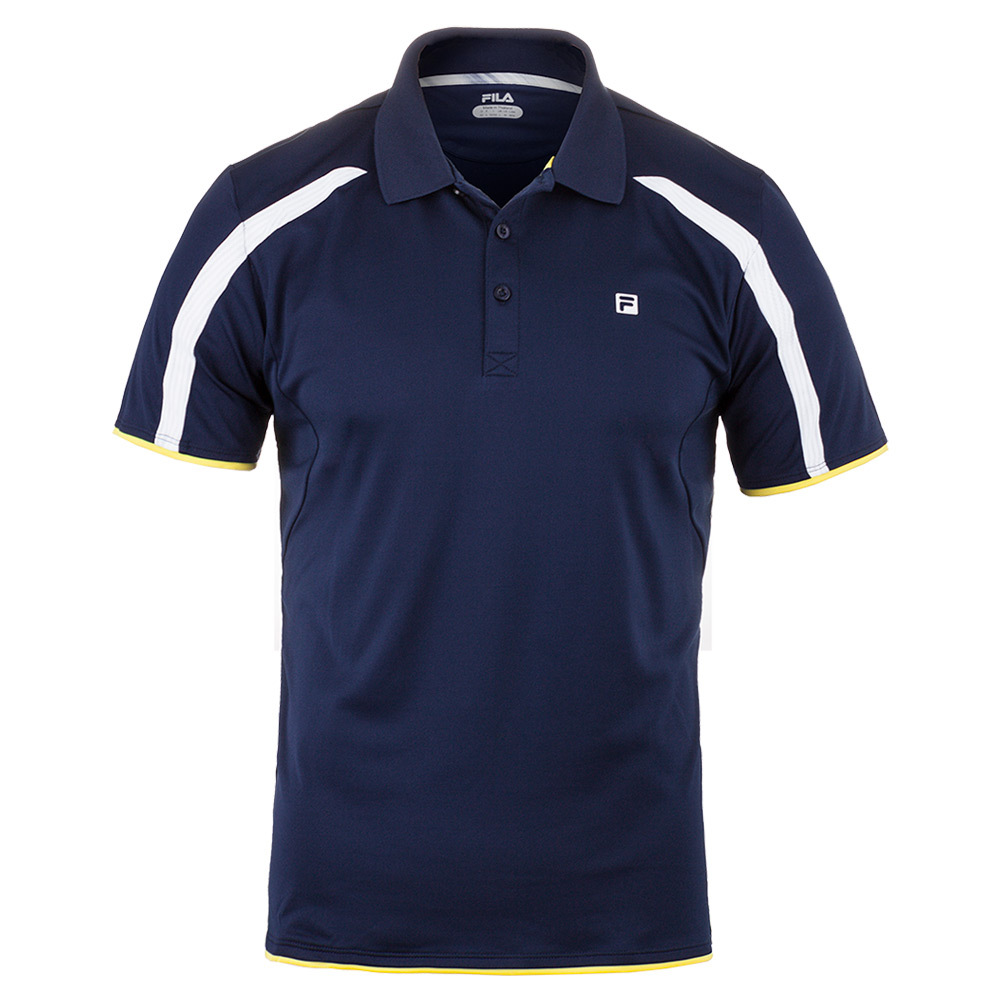 Men's Hurricane Tennis Polo Navy