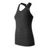 Women`s M4M Seamless Tennis Tank BKH_BLACK_HEATHER