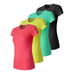 Women`s M4M Seamless Short Sleeve Tennis Top