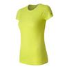 Women`s M4M Seamless Short Sleeve Tennis Top FFH_FIREFLY_HEATHER