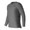 Men`s N Transit Long Sleeve Tennis Top AG_ATHLETIC_GRAY