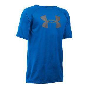 Boys` Tech Big Logo Short Sleeve Tee