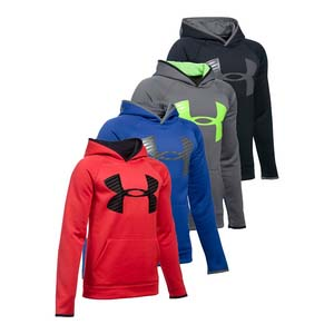 Boys` Fleece Highlight Hoody