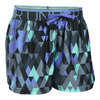 Girls` Printed Play Up Short 008_STEALTH_GY/VIOLT