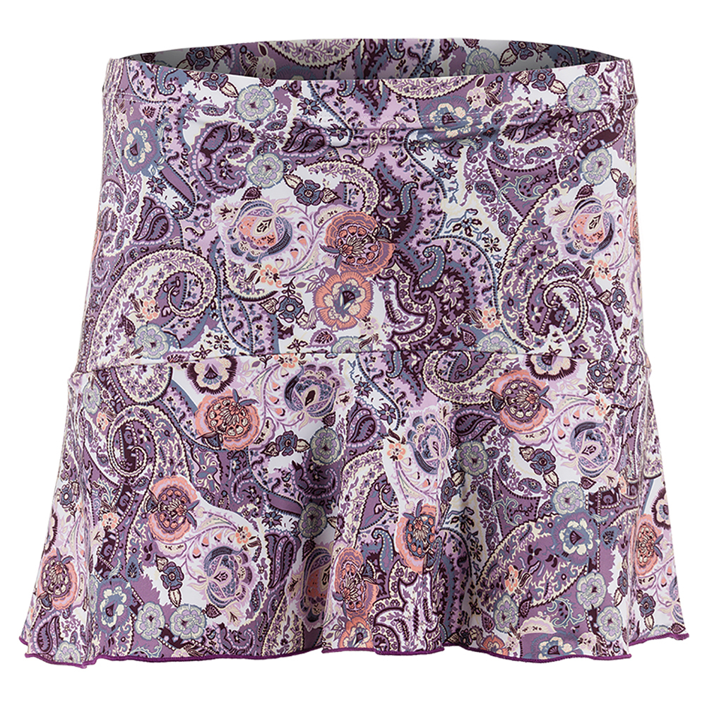Women's Tennis Skort Mulberry Print