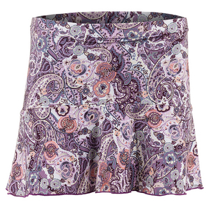 Women`s Tennis Skort Mulberry Print