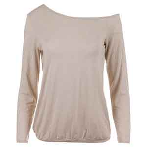 Women`s Shimmer Tennis Pullover Gold and White