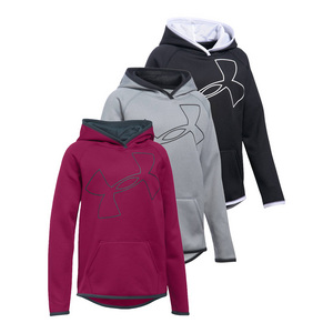 Girls` Fleece Big Logo Hoody