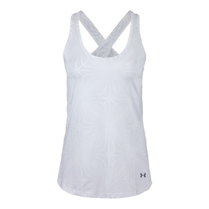 UNDER ARMOUR WOMENS HEATGEAR COOLSWITCH TANK WHITE