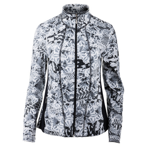 Women`s Love Tennis Jacket Casablanca Print