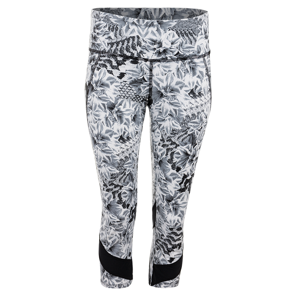 Women's Voltage Tennis Capri Casablanca Print