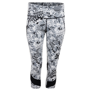 Women`s Voltage Tennis Capri Casablanca Print