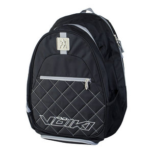 Tour Tennis Backpack Black and Silver