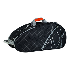 Tour Mega Tennis Bag Black and Silver
