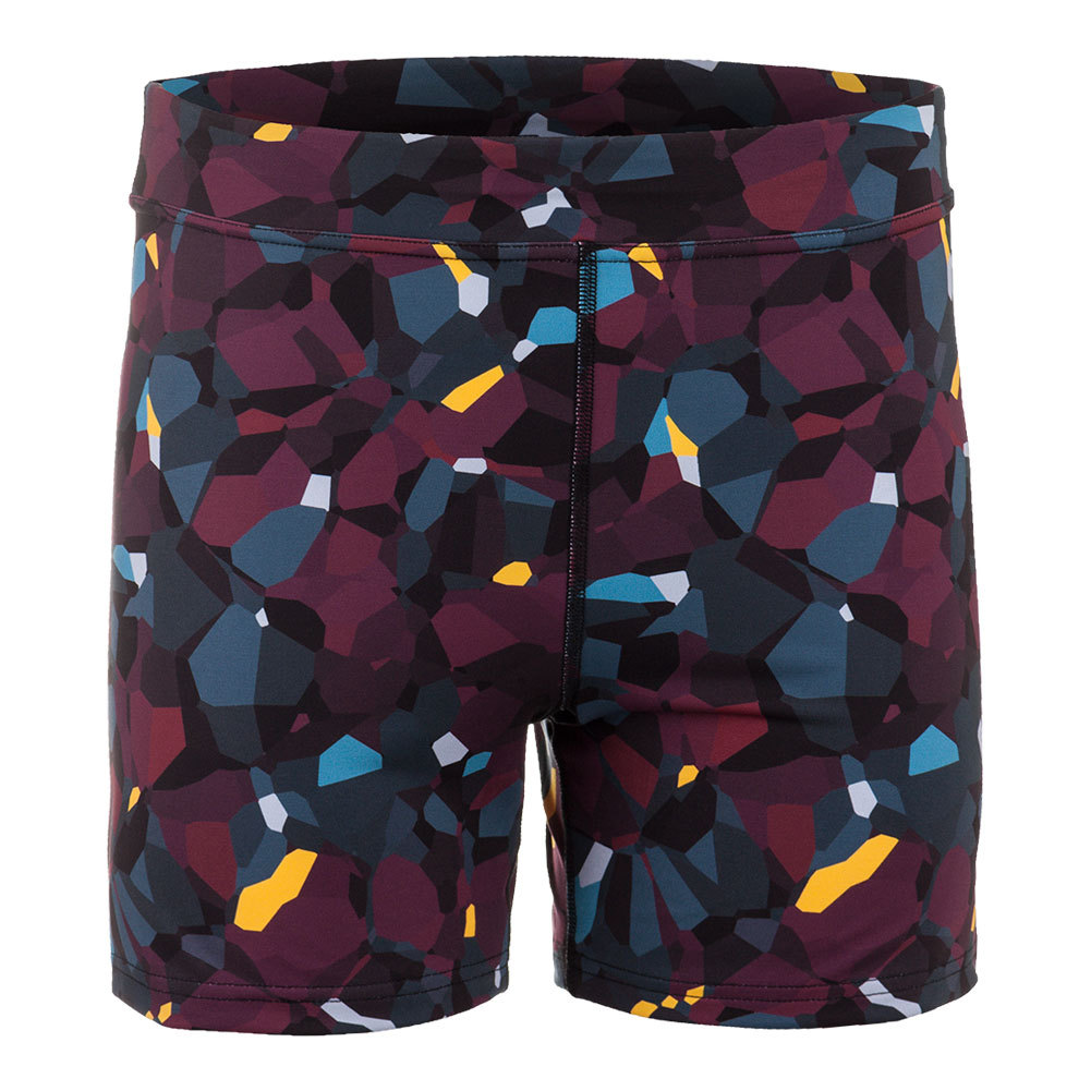 Women's Climate Tennis Short Blackberry Print