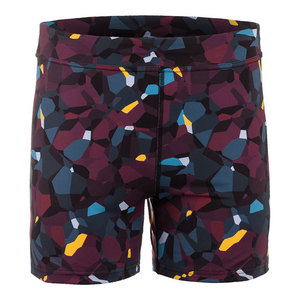 Women`s Climate Tennis Short Blackberry Print
