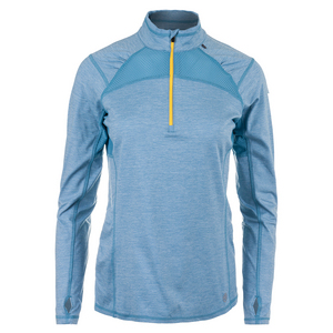 Women`s Stride 1/4 Zip Tennis Pullover Elderberry