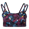 LIJA Women`s Define Double Strap Tennis Bra Blackerry Print