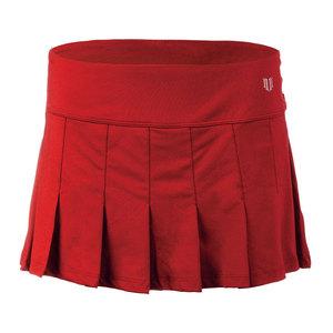 Women`s Flutter 13 Inch Tennis Skort Tango Red