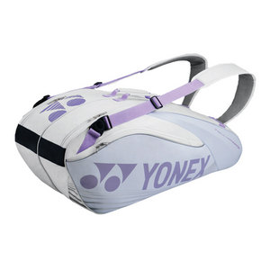 Pro Six Pack Tennis Bag White and Violet