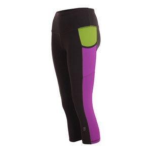 Women`s Tennis Capri Volcano Gray and Amethyst