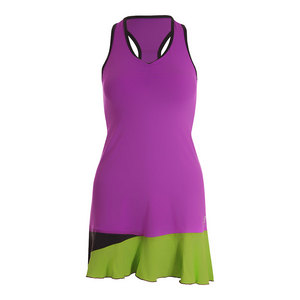 Women`s Racerback Tennis Dress Amethyst