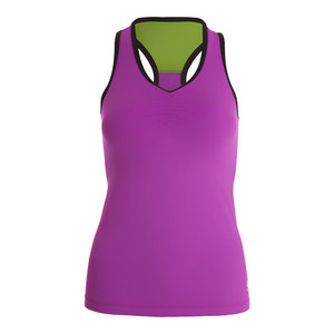 Women`s Racerback Tennis Top Amethyst