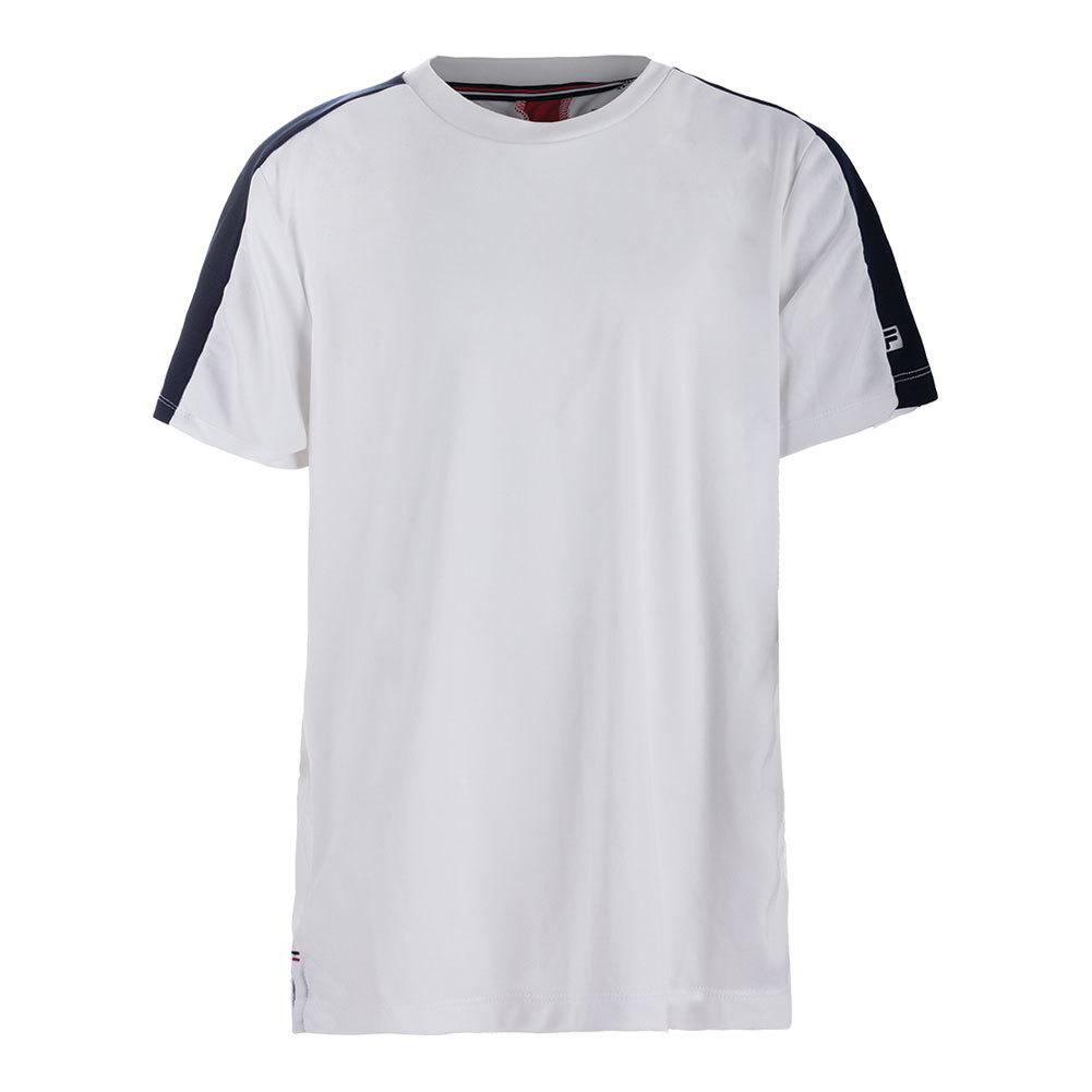 Boys ` Heritage Tennis Crew White