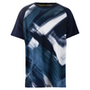 FILA Boys` Hurricane Printed Tennis Crew Navy and White