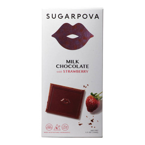 Milk Chocolate with Strawberry