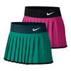 NIKE Girls` Victory Tennis Skort