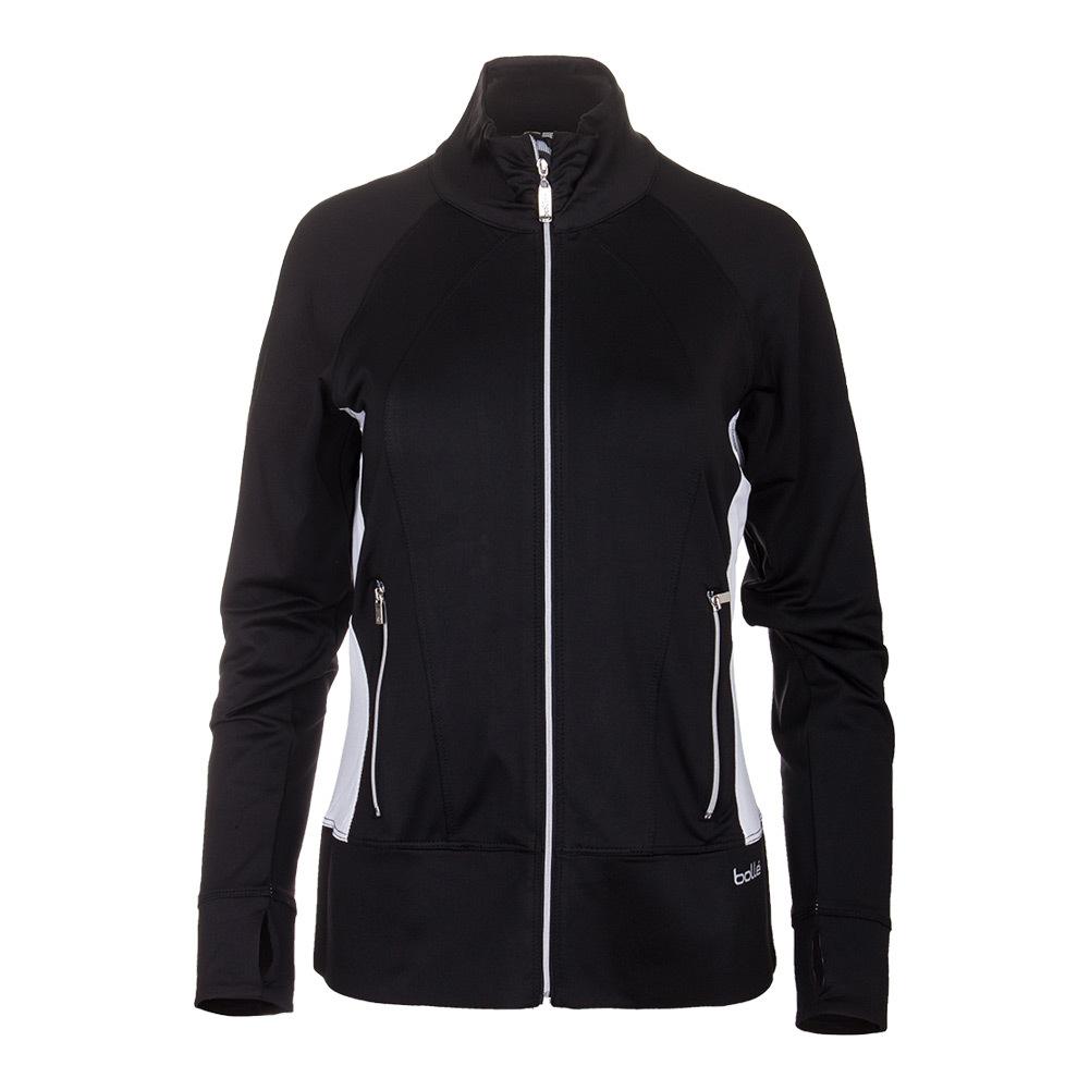 Women's Isabella Tennis Jacket Black