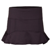 LUCKY IN LOVE Women`s Power Hi-Lo Tennis Skort Shale