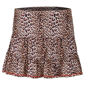Women`s Long Spot On Hi-Lo Tennis Skort Print