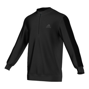 Men`s ClimaCore Three-Quarter Zip Top Black