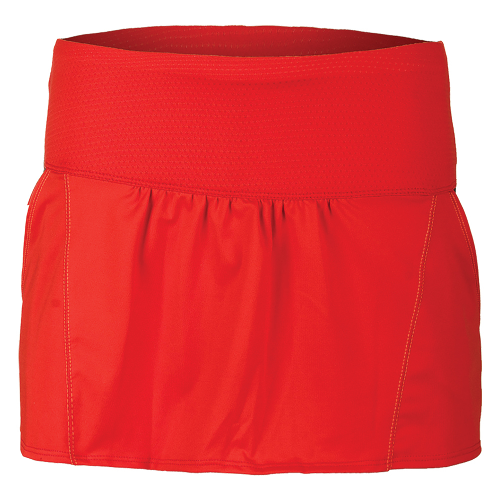 Women's Chill Tennis Skort Crimson