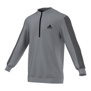 Men`s ClimaCore Three-Quarter Zip Top Gray