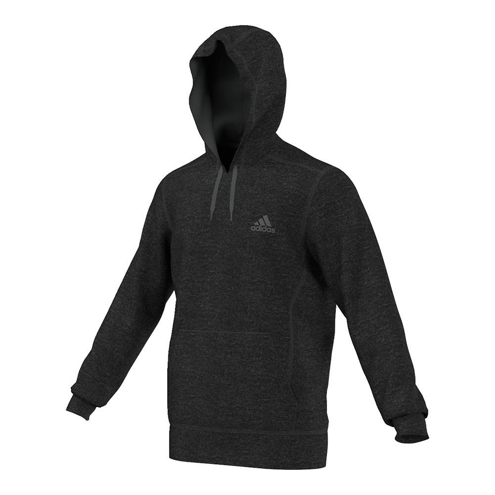 Men's Ultimate Fleece Pullover Hoodie Black