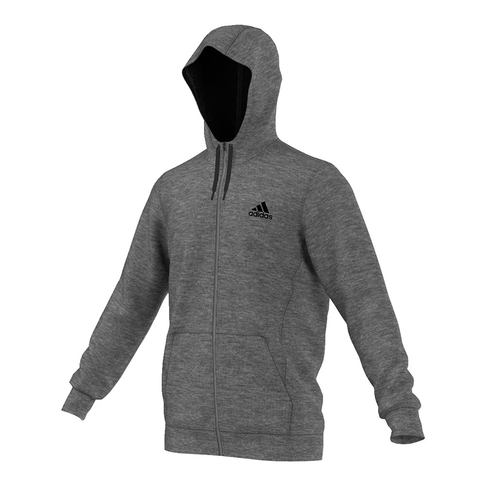 Men's Team Issue Fleece Full- Zip Hoodie Dark Gray Heather