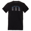 TRAVISMATHEW Men`s York Lines Tennis Tee Black