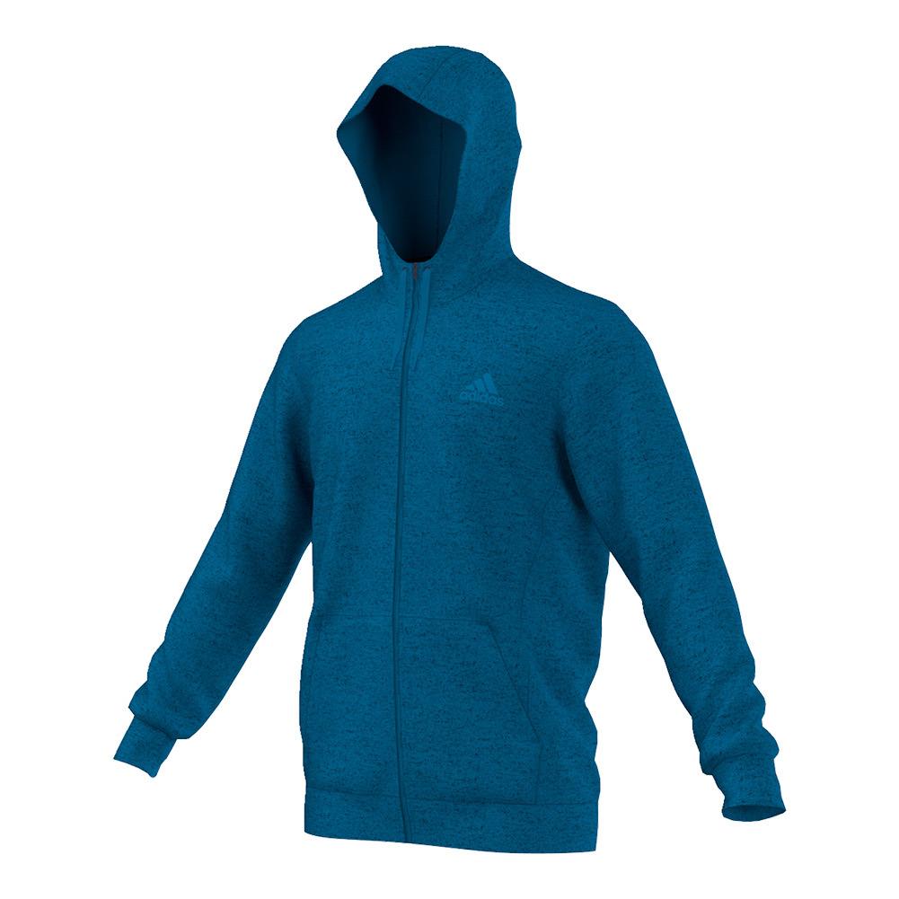 Men's Team Issue Fleece Full- Zip Hoodie Unity Blue Heather