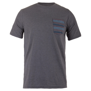 Men`s Fason Tennis Tee Heather Gray
