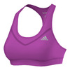 ADIDAS Women`s Techfit Bra Shock Purple