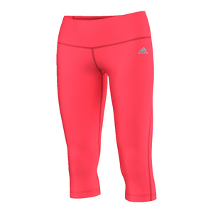 Women`s Performer Mid-Rise Three-Quarter Tight Shock Red