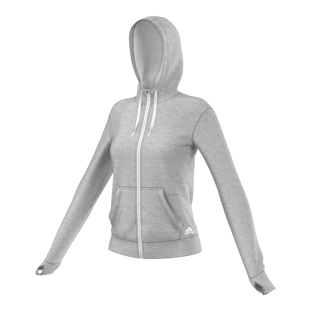 Women's 24/7/365 Full Zip Hoodie Medium Gray Heather