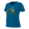 ADIDAS Women`s Badge of Sport Northern Lights Tee Unity Blue