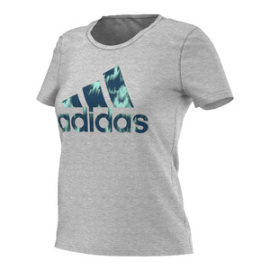 Women`s Badge of Sport Northern Lights Tee Medium Gray Heather