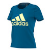 ADIDAS Women`s Badge of Sport Tee Unity Blue