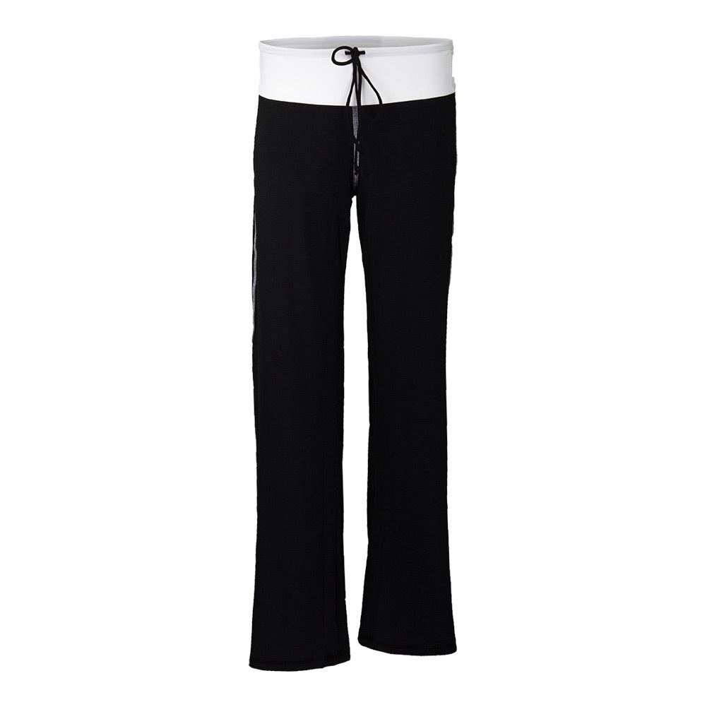 Women's Cooldown Tennis Pant Black And White