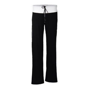 Women`s Cooldown Tennis Pant Black and White